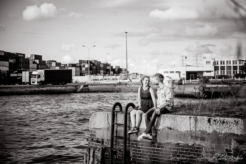 photographe Le Havre, Photographe Le Havre – séance engagement Marion & Matthias