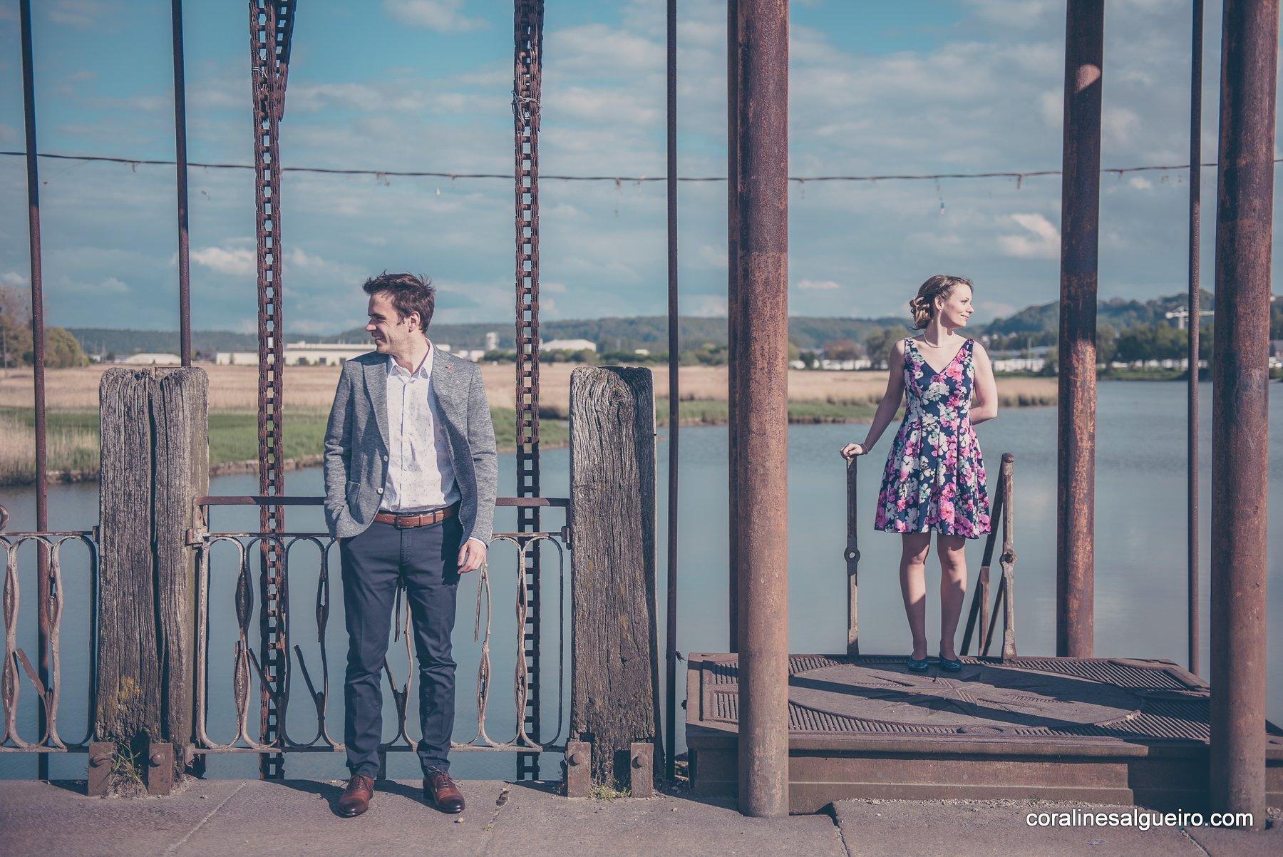 Photographe Honfleur, Photographe Honfleur – Vincent & Clémence