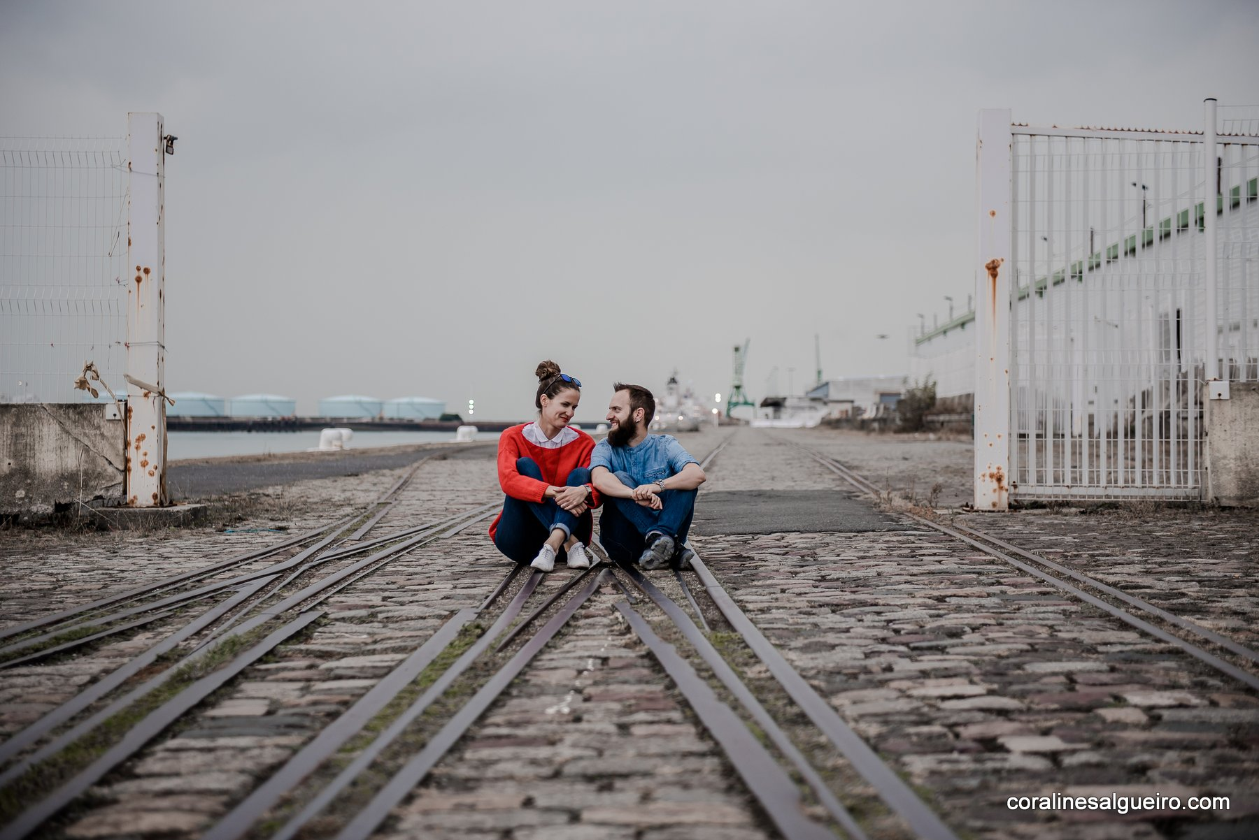 shooting couple port du havre